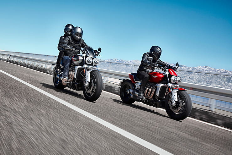 OFFICIAL: New Triumph Rocket 3 R and GT revealed