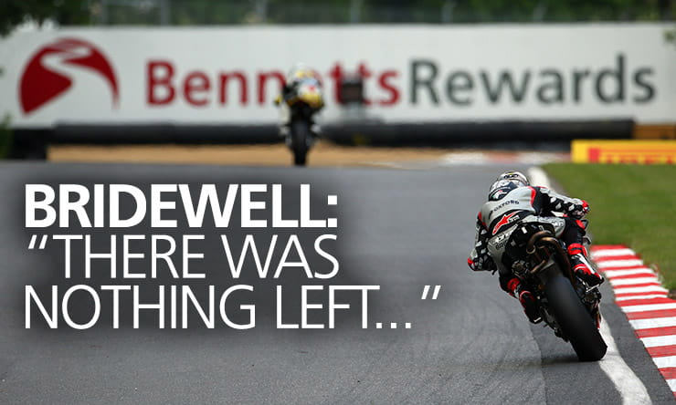 Exclusive interview with Bennetts BSB championship leader, Tommy Bridewell