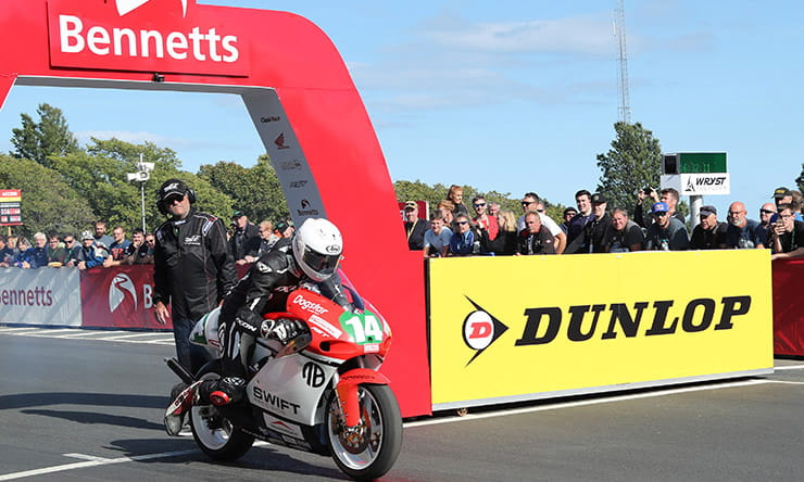 Classic TT 2019 | Jamie Coward confirmed on a two-stroke
