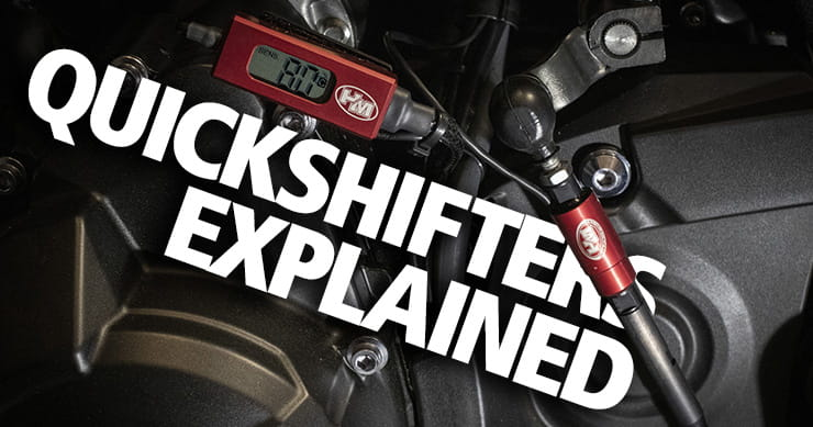 Motorcycle quickshifters: Are they safe, how do they work?
