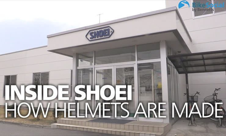 Inside Shoei | How motorcycle helmets are made