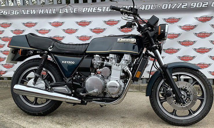 Kawasaki kz1300 Z1300 modern classic review buying guide price value spec