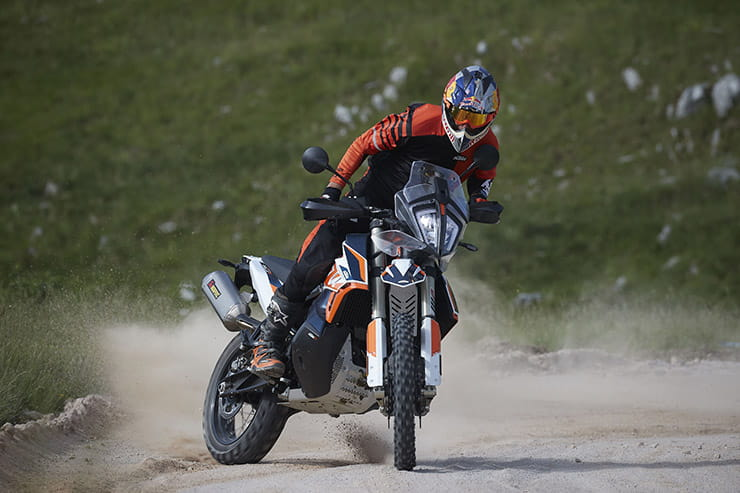 KTM launches 790 Adventure R Rally