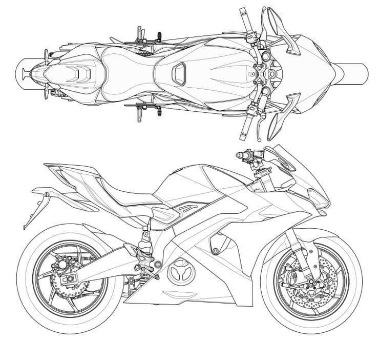 Kymco SuperNEX patent hints at unfaired derivative