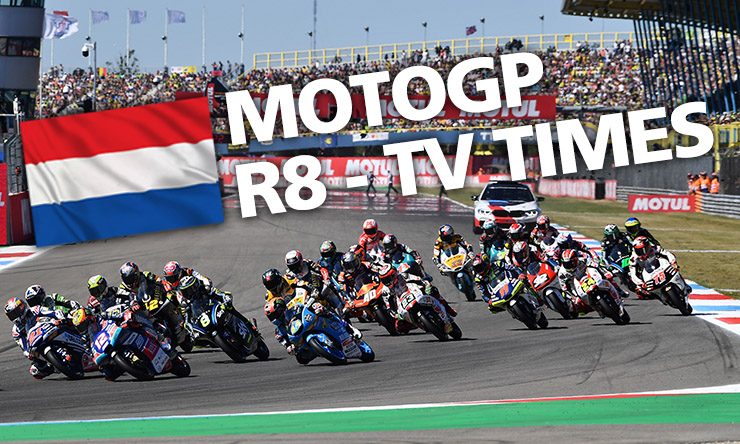 MotoGP - Weekend schedule & TV times | BikeSocia