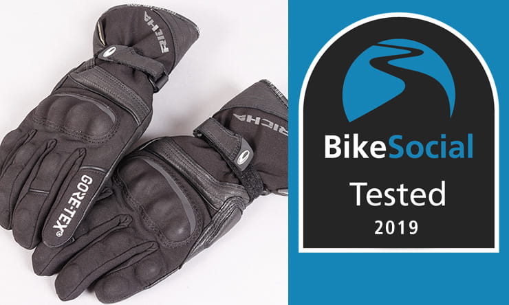 Tested: Richa Diana GoreTex waterproof motorcycle gloves review