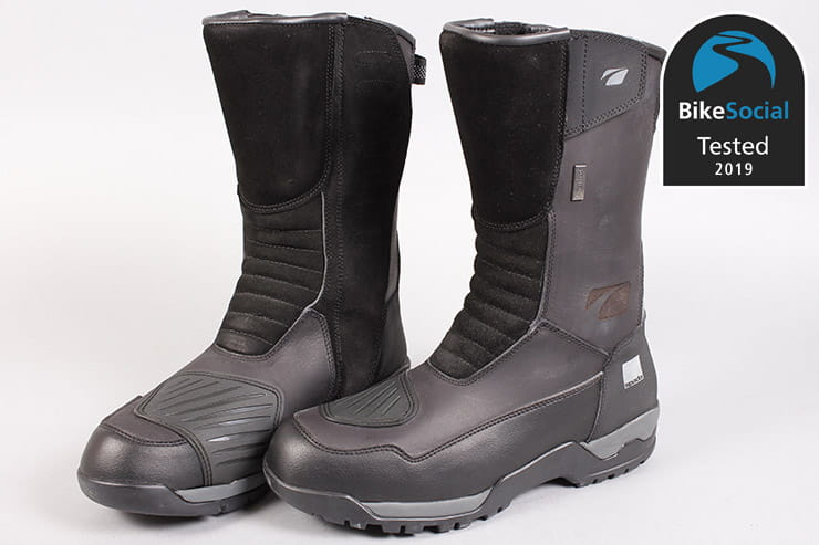 Tested Spada Stelvio Waterproof Motorcycle Boots Review