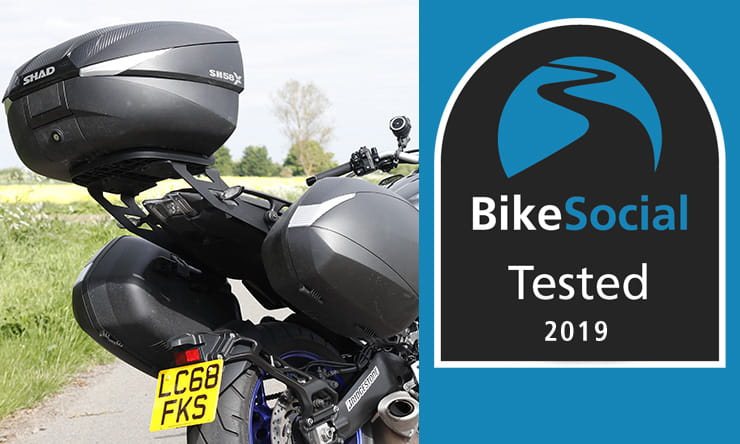 Tested: Shad SH58x / SH36 top box & panniers motorcycle luggage review