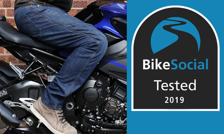 Tested: AlpineStars Copper Out motorcycle jeans review