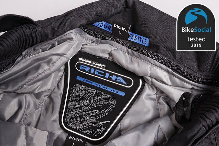Tested: Richa Infinity 2 & Colorado motorcycle textiles review