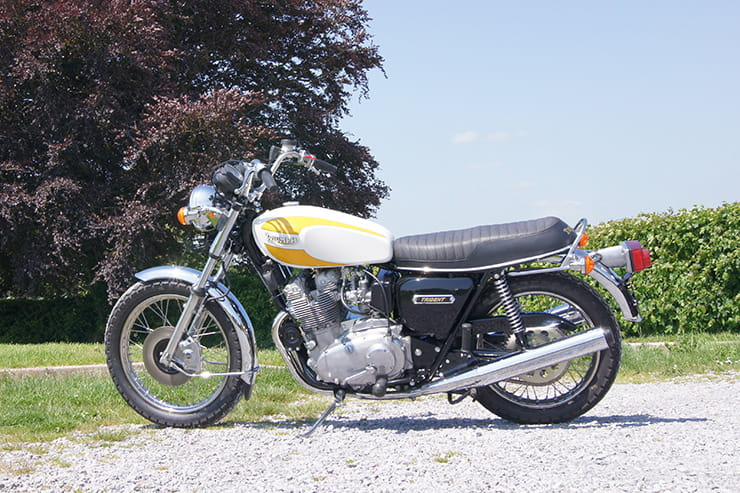 1975 Triumph Trident T160 review