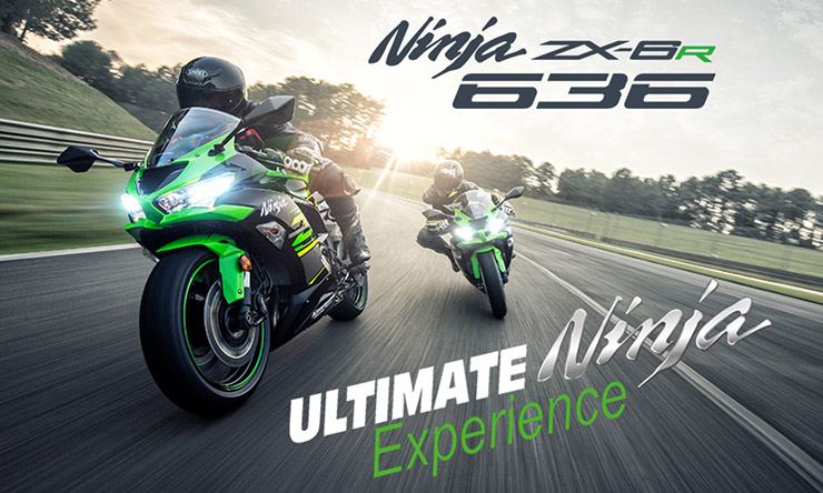 Win a place at the Kawasaki Ninja Experience