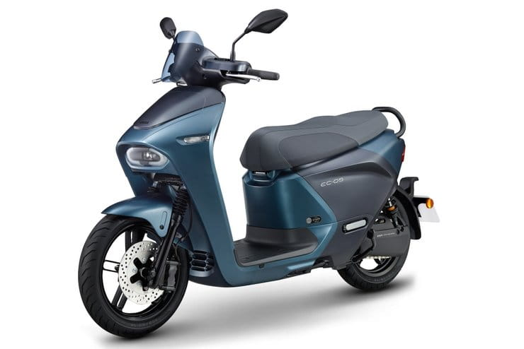 Yamaha EC-05 battery-swappable electric scooter