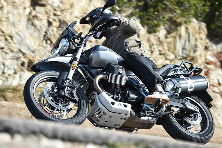 2019 Moto Guzzi V85TT Review Price Specs