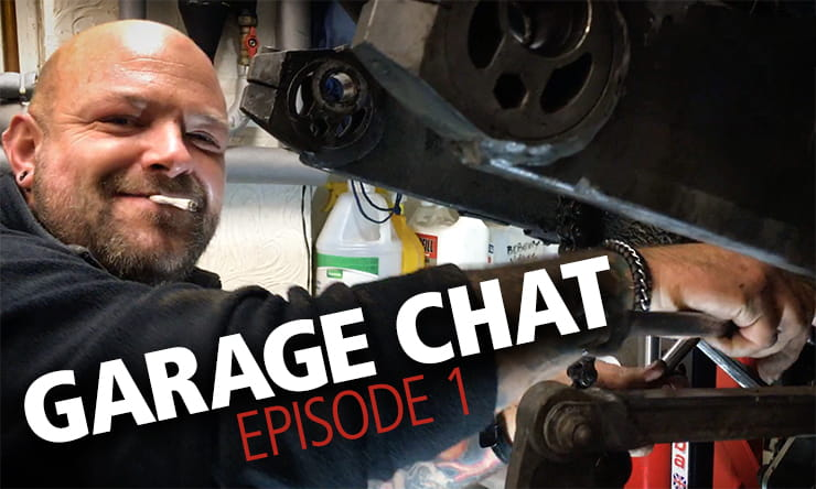Workshop advice: How to fit a shock, change bearings and start a custom motorcycle build