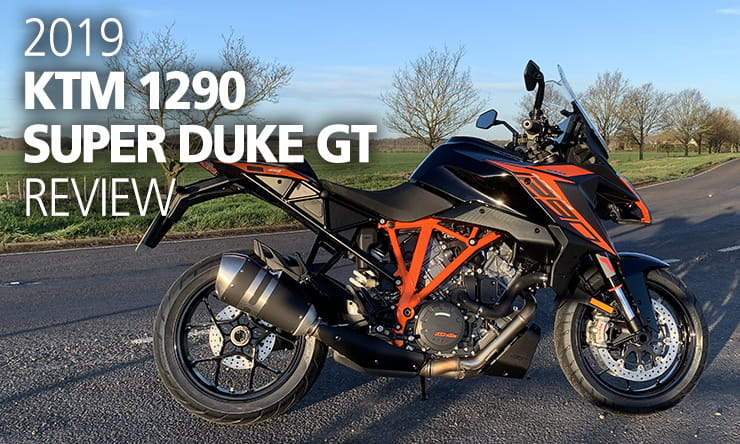 2019 KTM 1290 Super Duke GT Review