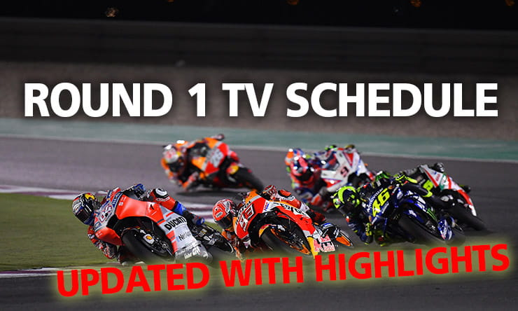 MotoGP Schedule - Update inc Quest Free to View Highlights
