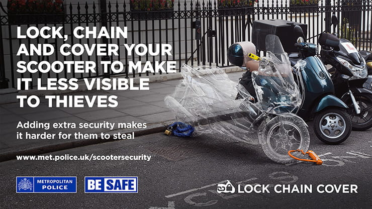 How do you keep a motorcycle safe? Best bike security