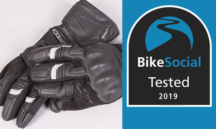 Tested: Alpinestars Patron Gore-Tex waterproof motorcycle gloves review