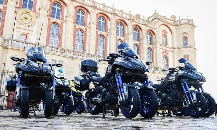 Yamaha Niken becomes official Grand Tour support bike
