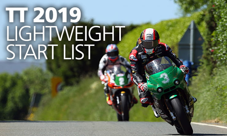 2019 TT Lightweight Start List Confirmed