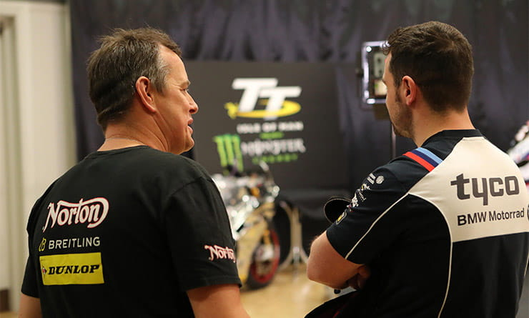 McGuinness and Michael Dunlop