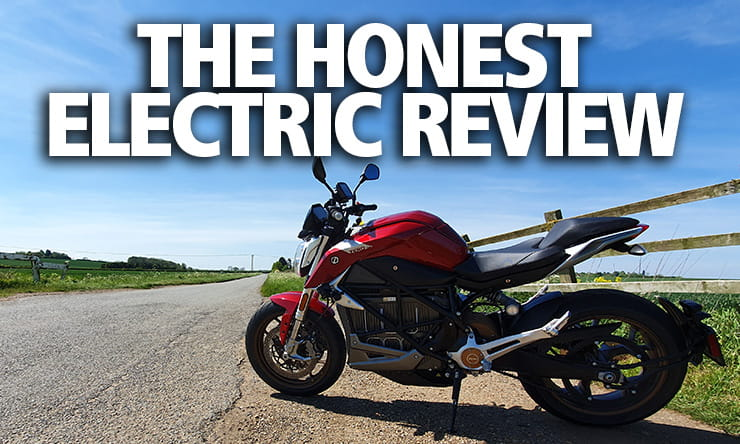2020 Zero SR/F electric motorcycle review
