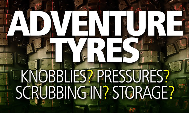 How to chose the best adventure tyres for your bike