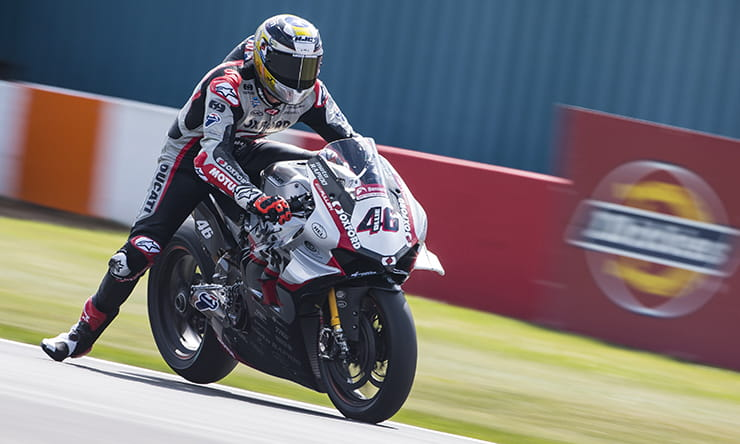 BSB 2019 - Donington - Bridewell Interview Oxford Products Ducati