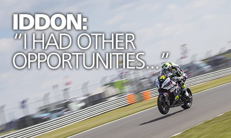 "BSB 2019 | Christian Iddon: ""It was a big decision to stay with Tyco BMW"""