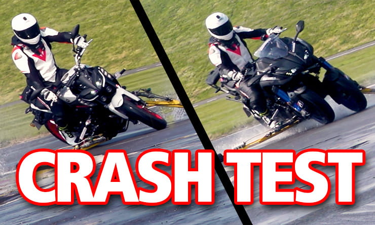 Can you crash the Yamaha Niken?