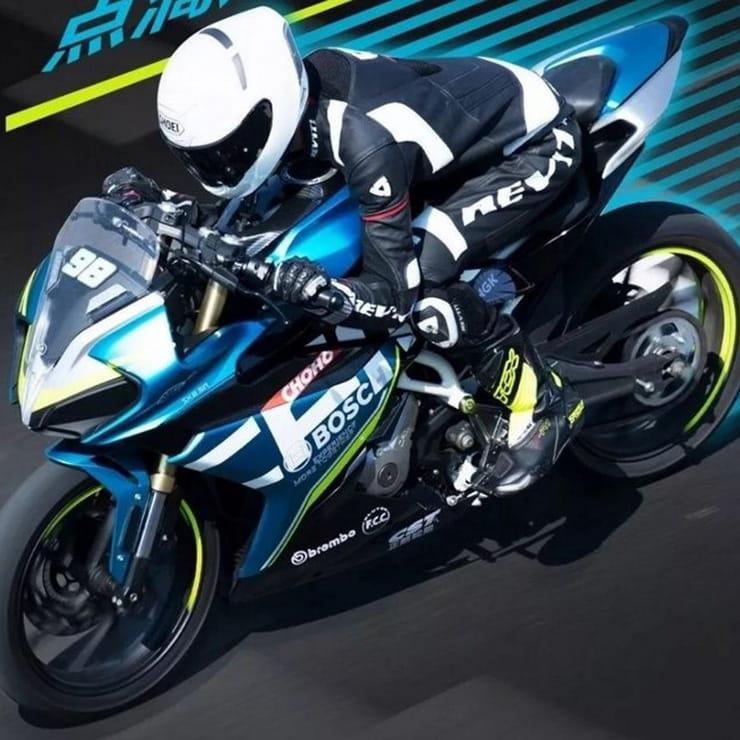 CFMoto teases 250SR sports bike