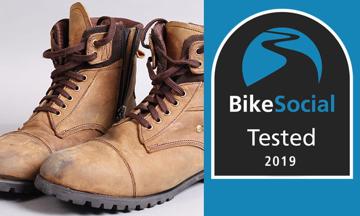 Tested: Duchinni Sherwood waterproof motorcycle boot review