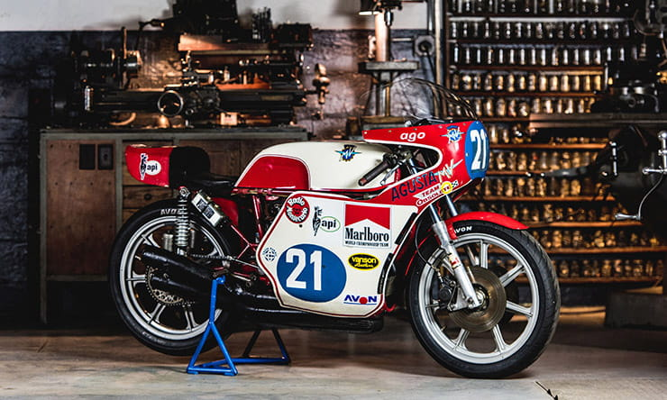 Giacomo Agostini to ride iconic MV Agusta at 2019 Classic TT