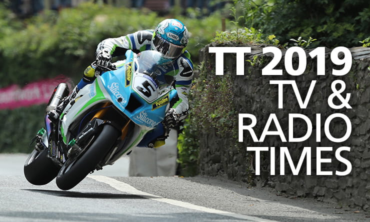 Isle of Man TT 2019: Full TV Schedule and Radio Guide