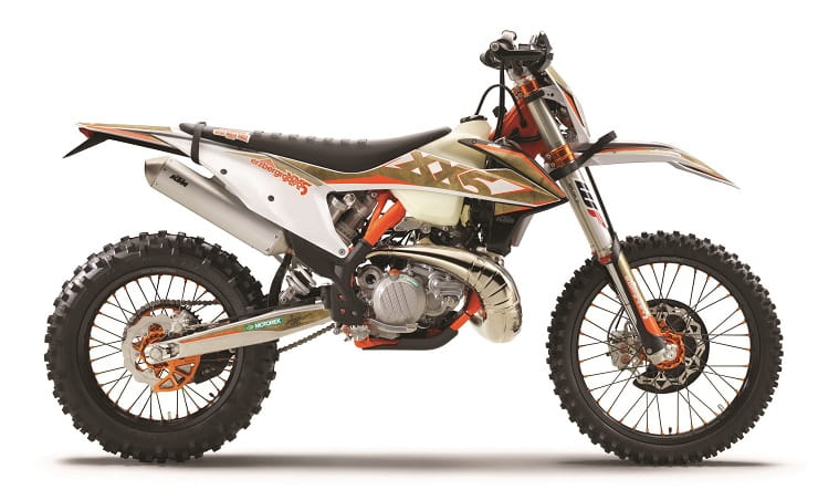 KTM launched 2020 enduro range