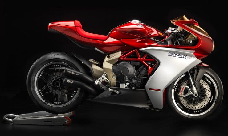 MV Agusta Superveloce: Pre-orders open for €27,990 'Serie Oro' version