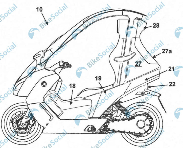 BMW developing new C1 roofed scooter – but this time it's electric