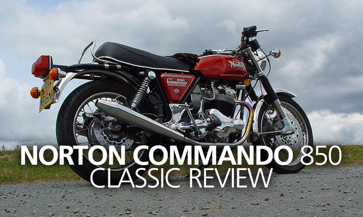1975 Norton Commando Mk3 Roadster review
