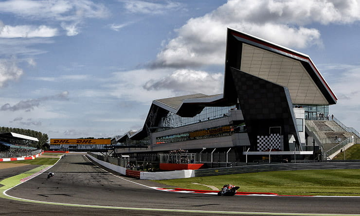 Silverstone resurfacing and motogp contracts