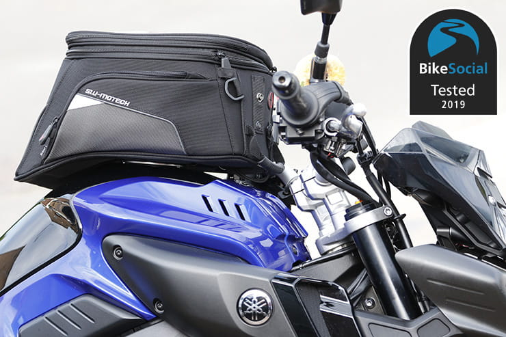 Tested: SW Motech EVO Trial motorcycle tank bag review