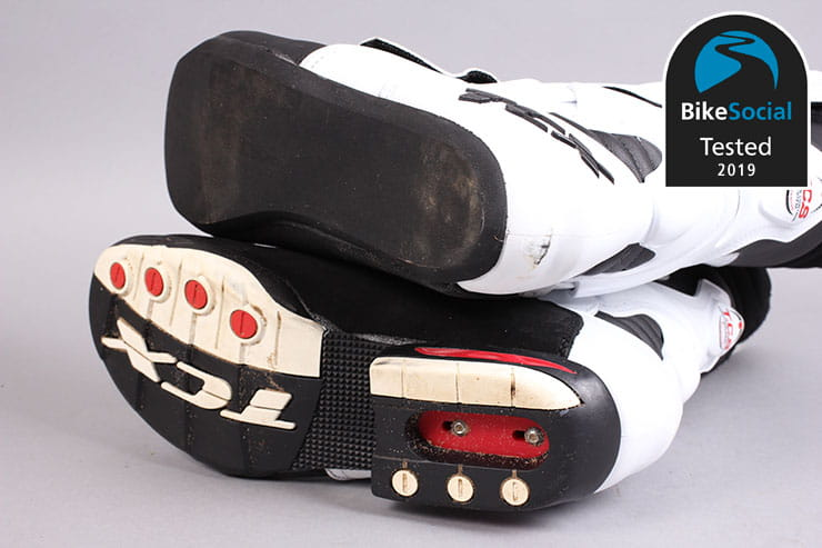 BikeSocial crash tests these specialist motorcycle racing boots