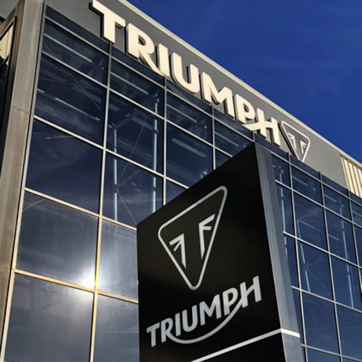 Triumph confirms electric bike plans