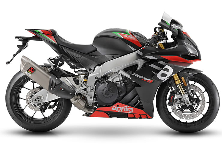 Semi-active suspension for Aprilia RSV4 1100 Factory plus RSV4 RR and Tuono V4 updates
