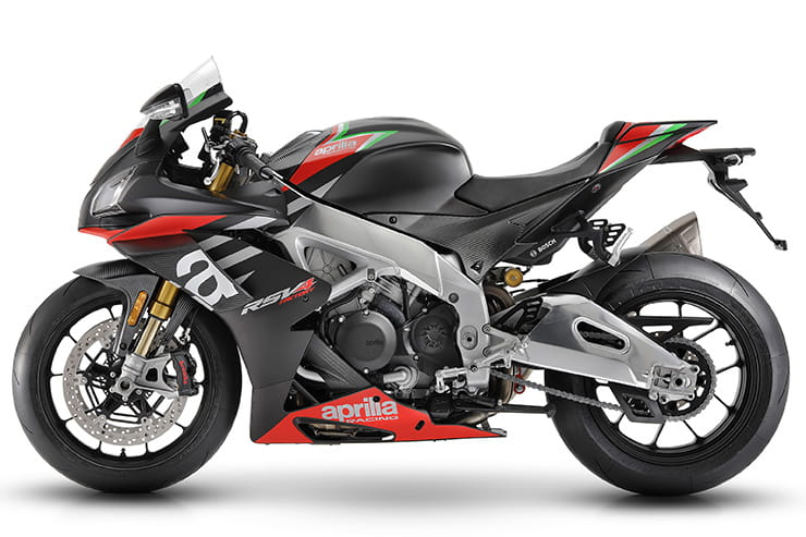 Semi-active suspension for Aprilia RSV4 1100 and Tuono Factory plus RSV4 RR and Tuono V4 updates