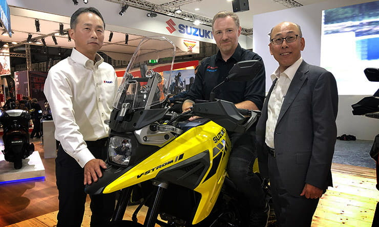 Suzuki boss's thoughts on EV, a new Hayabusa as well as the importance of both the used market and racing influence