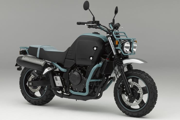 Rebel-based street scrambler under development to cash in on retro trend
