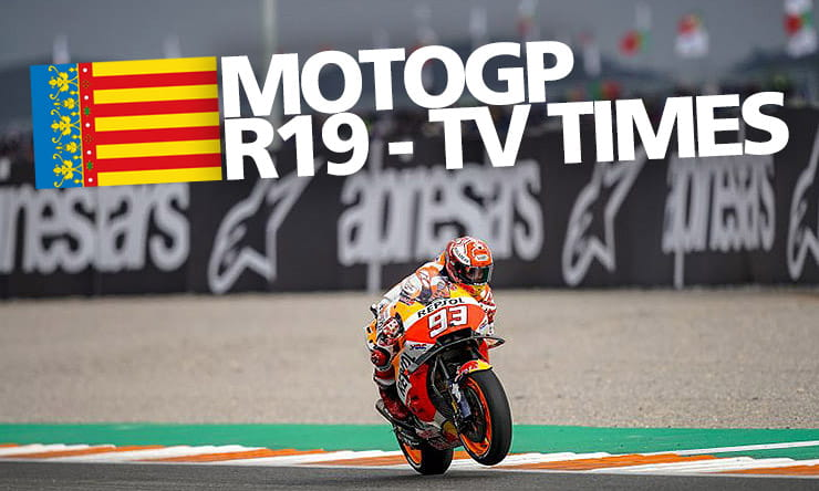 MotoGP [ Valencia ] - Weekend TV times | BikeSocial