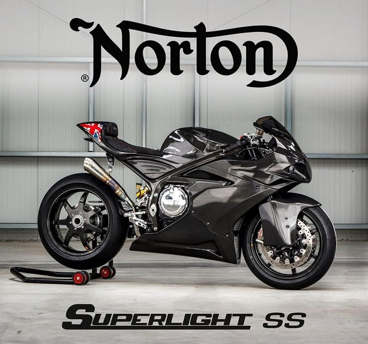 Norton Superlight SS: supercharged, carbon-framed twin