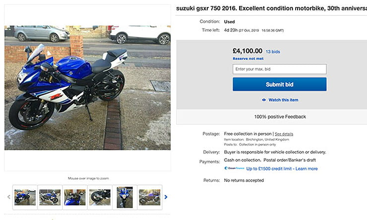 How to sell your bike with ease and avoid scammers